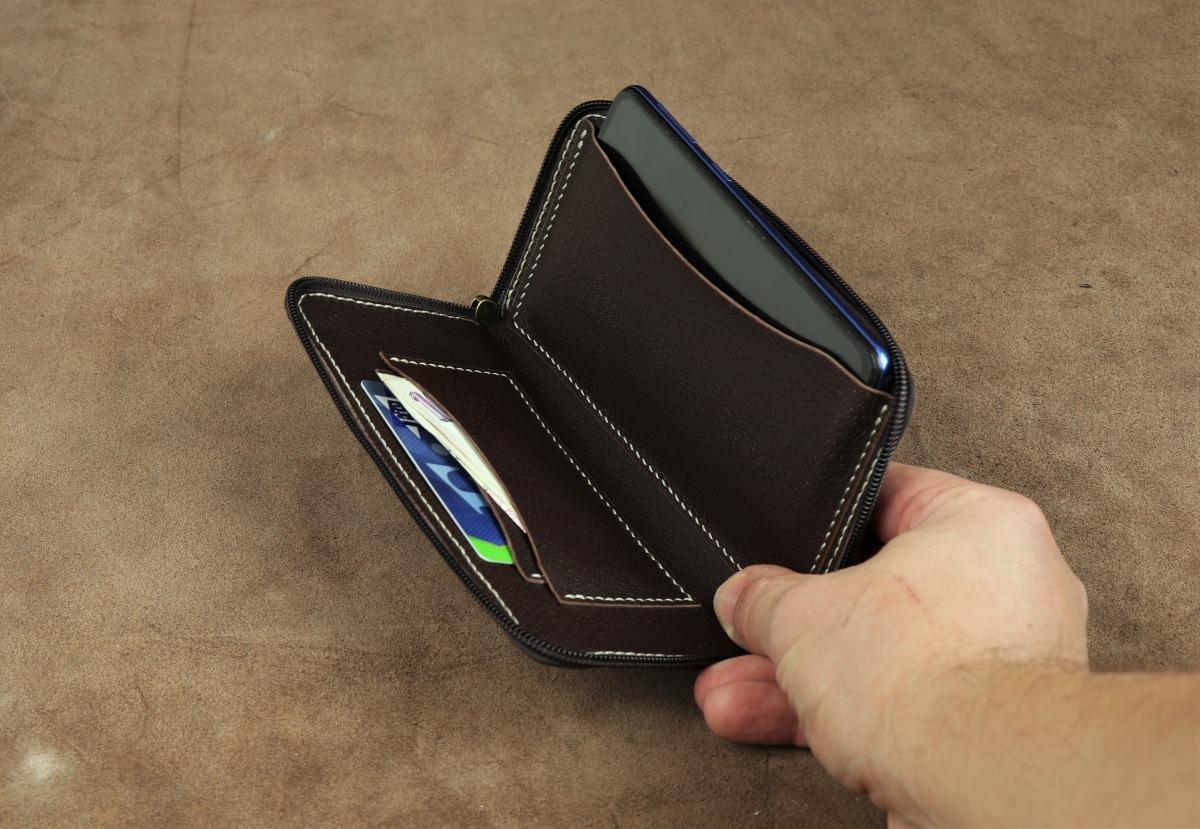 pouzdro na mobil ve stylu peněženka