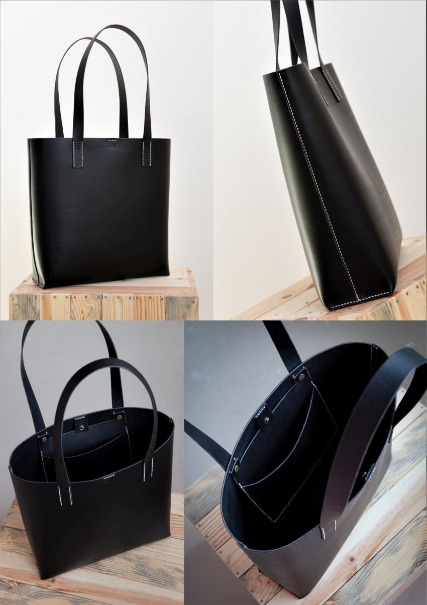 kožená taška na zakázku