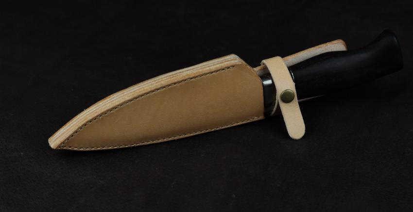 kožené pouzdro na zakázku pro lovecký nůž