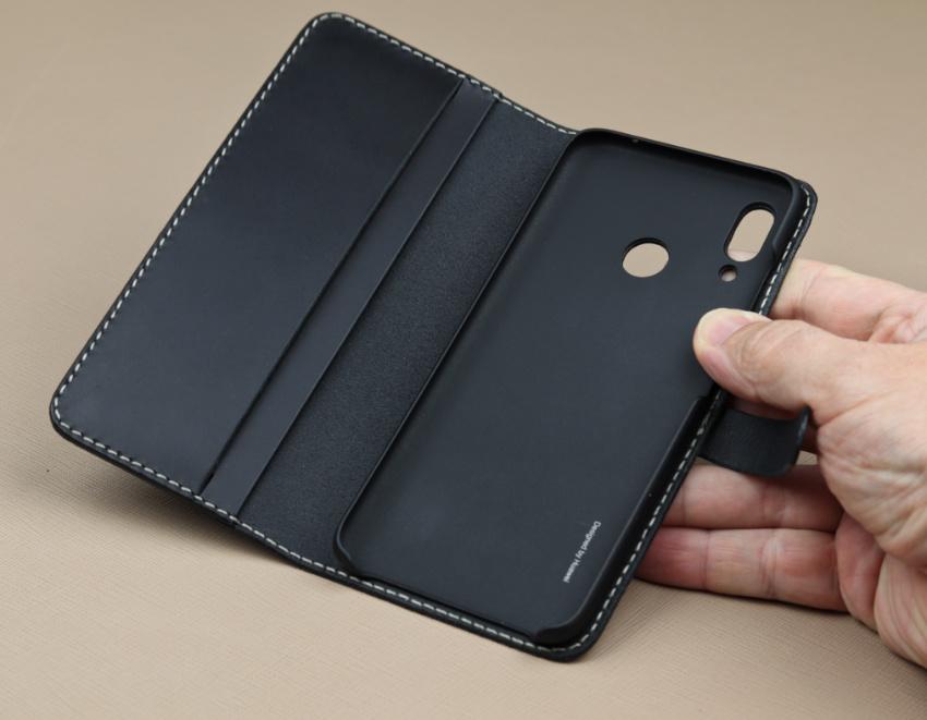 Kožené pouzdro knížečka flipové pro Huawei Nova 3