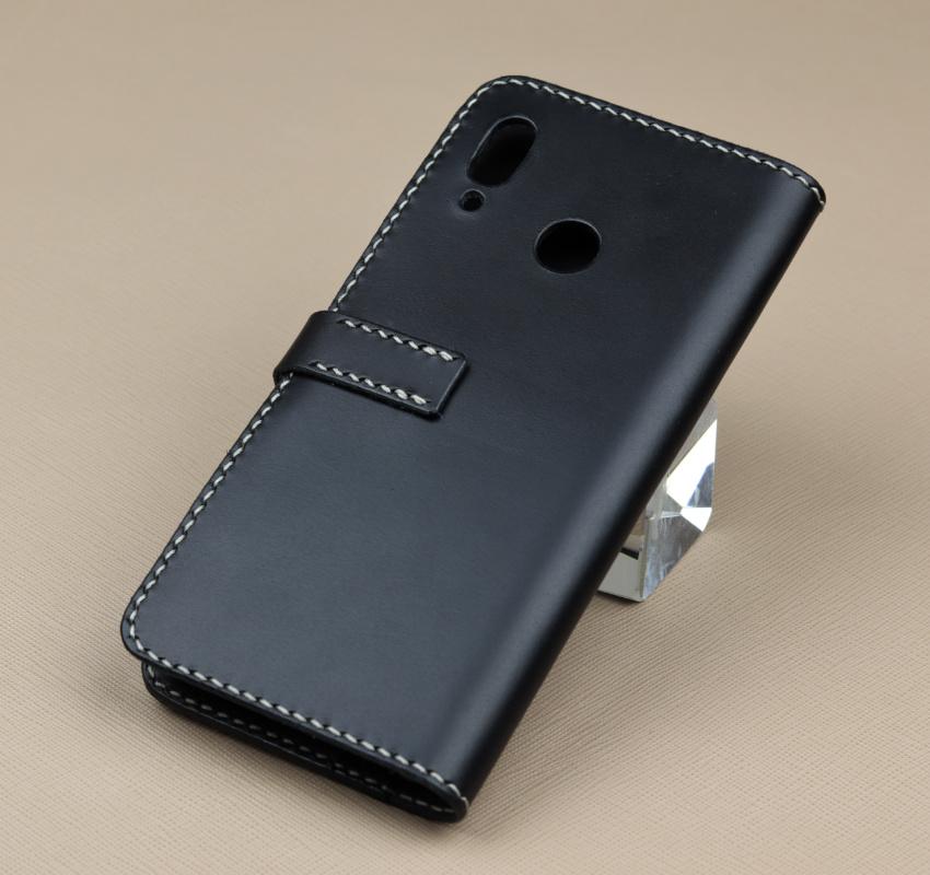 Kožené flipové pouzdro pro Huawei Nova 3